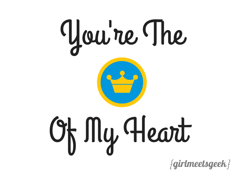 You're The Mayor Of My Heart